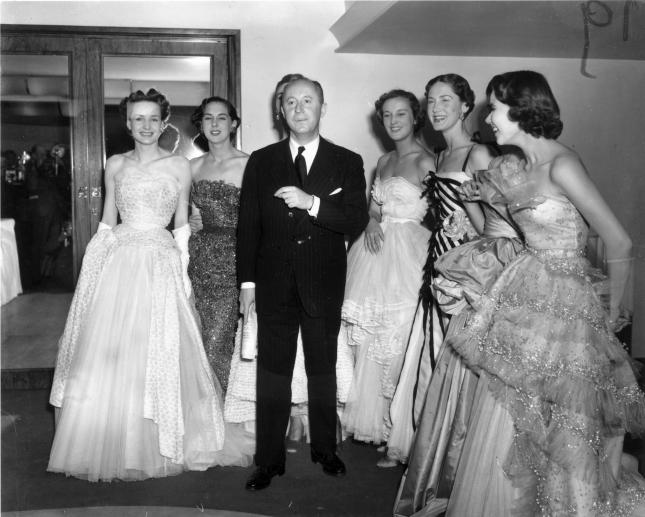 Dior And Models