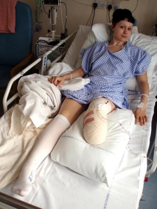 Виктория после операции
