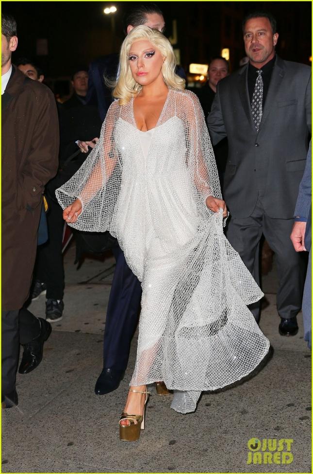 17 декабря: Леди Гага после The Tonight Show