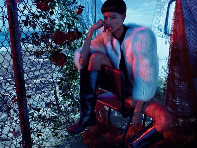 Малаика Ферт в фотосесси для  Numero