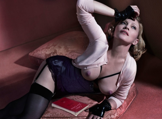 Мадонна для американского  Interview