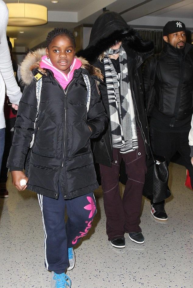 Мадонна с дочкой