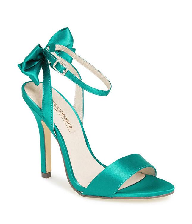 menbur-green-satin-bow-heels