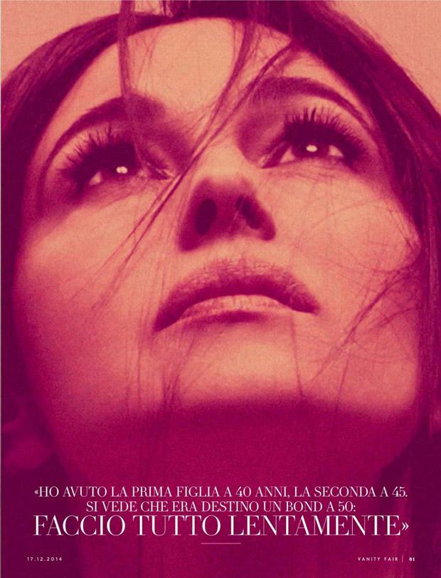 Моника Белуччи для  Vanity Fair Italia
