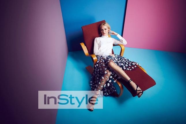 Наоми Уоттс для  InStyle UK, февраль 2015