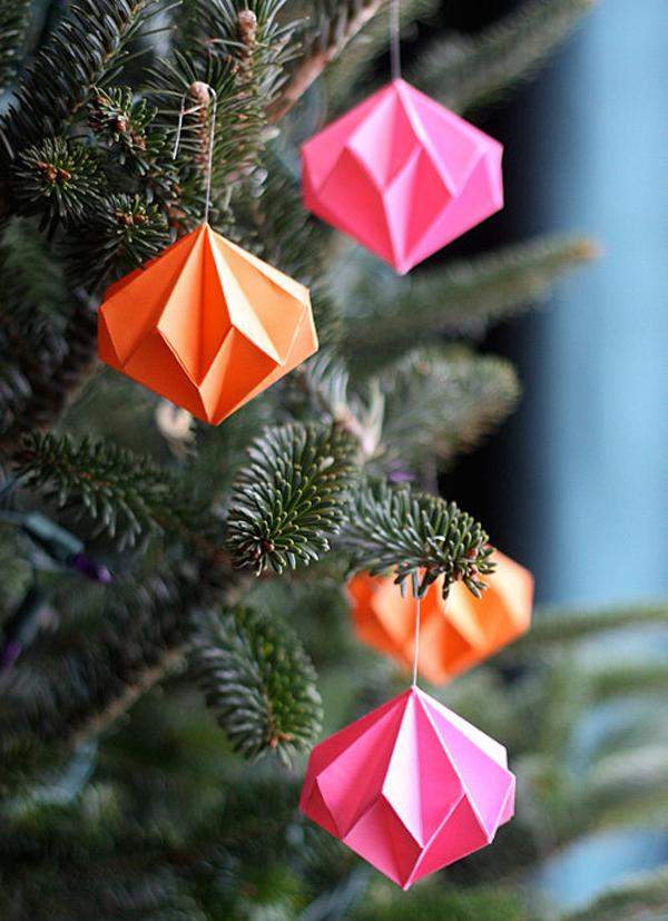 Фото игрушек на елку из бумаги своими руками
