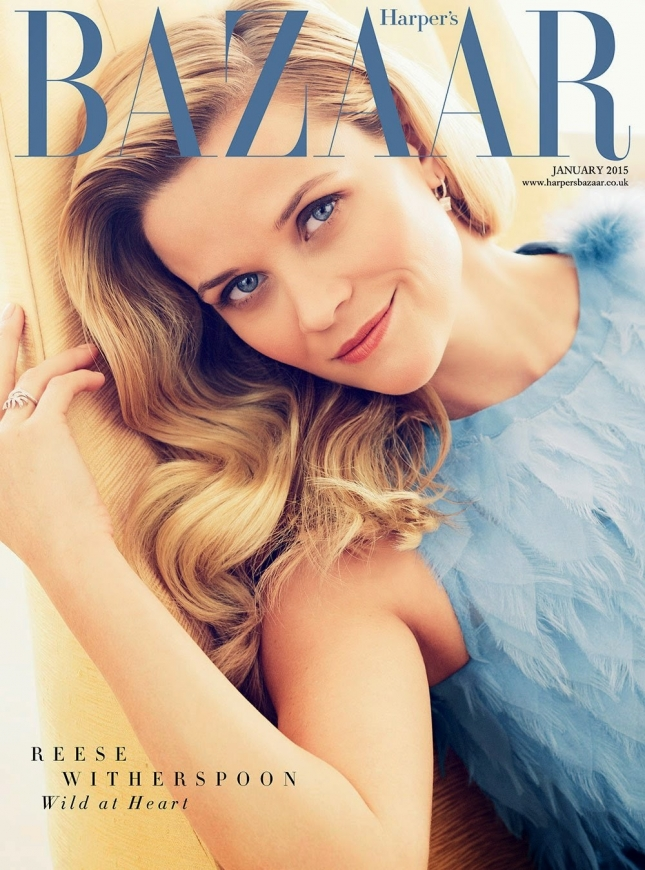 Риз Уизерспун на обложке Harper`s Bazaar UK