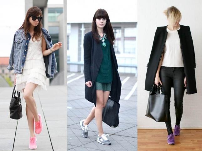 Уличный стиль: кроссовки