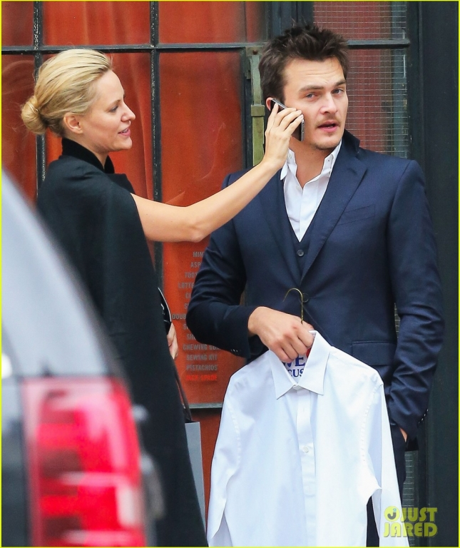Rupert Friend & Aimee Mullins Step Out In NYC