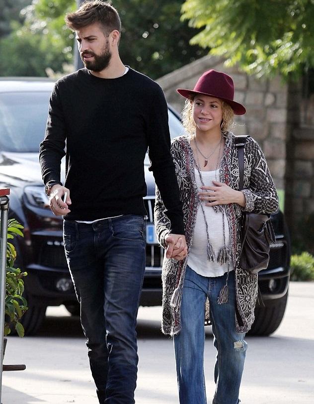 Шакира с Жераром Пике