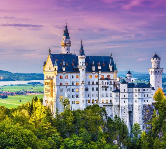 Замок Нойшвайнштайн, Германия