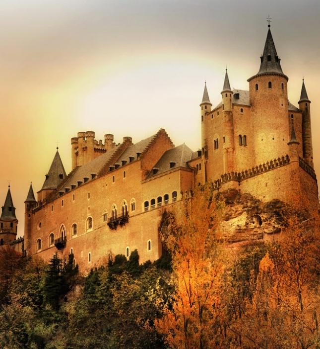 Замок Сеговии, Испания