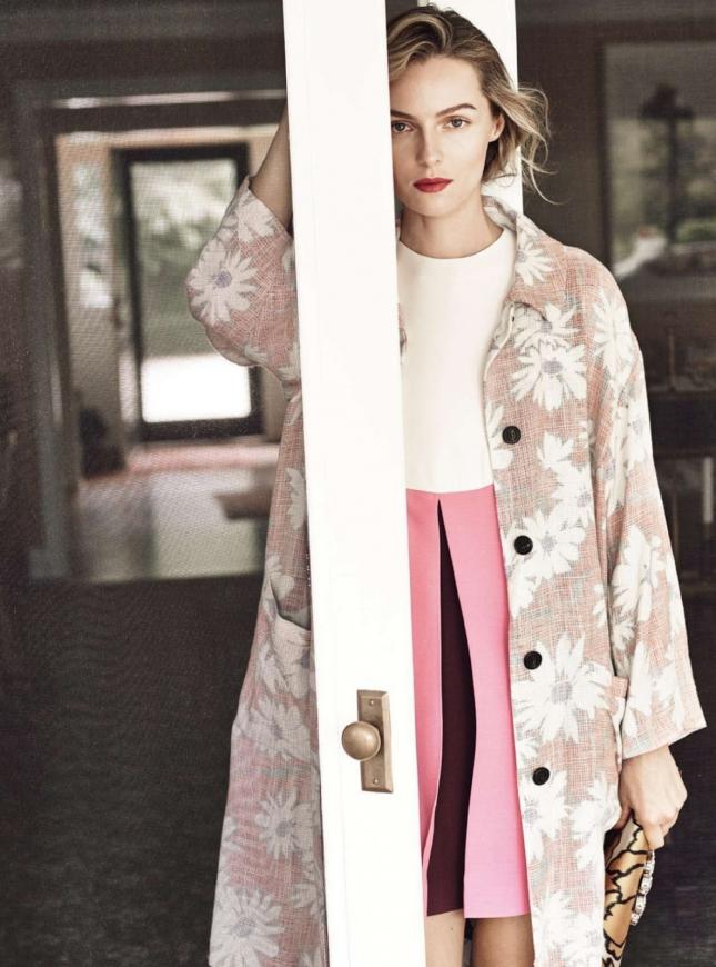 Валентина Зеляева в фотосессии для Harper's Bazaar UK