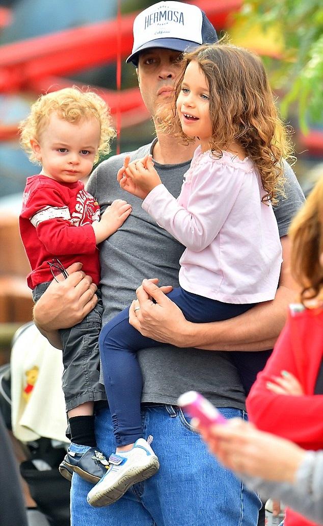 Винс Вон с детьми