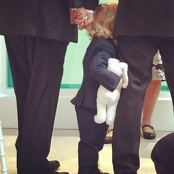 Zachary-clung-his-fathers-legs-exchanged-vows