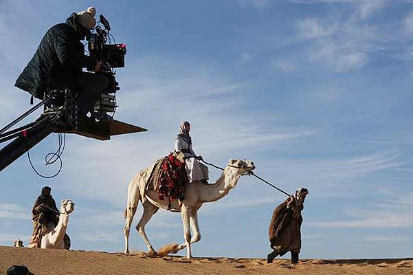 "Фото со съемок фильма ""Королева пустыни"""