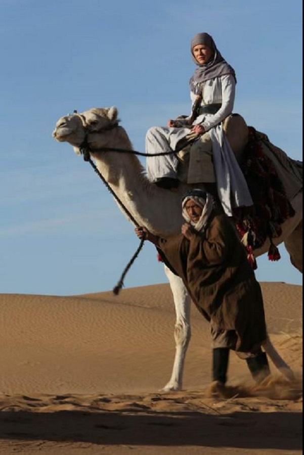"Кадр из фильма ""Королева пустыни"""