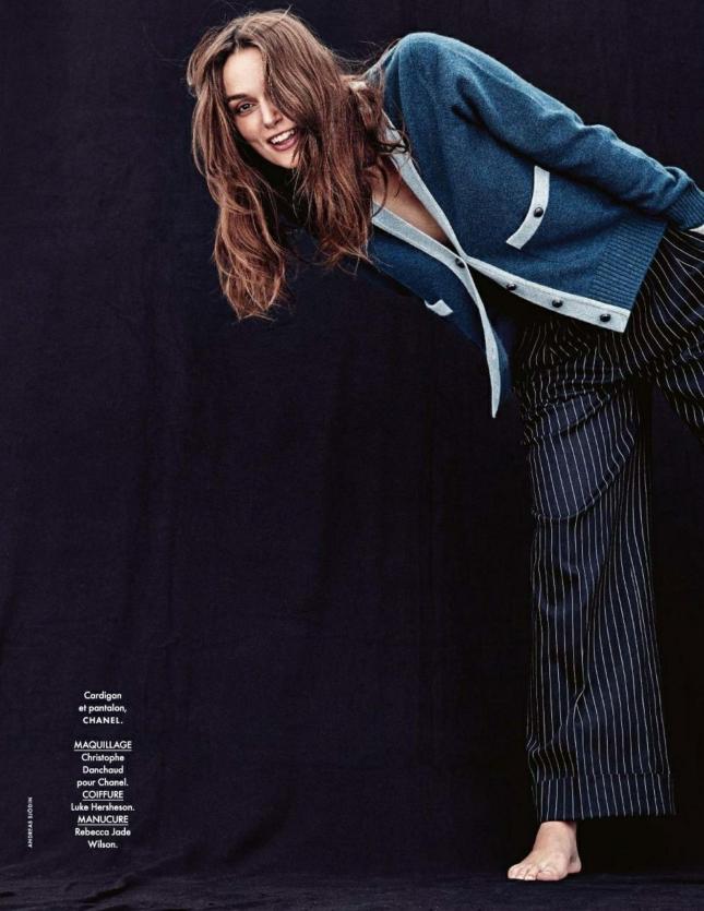 Кира Найтли для  Elle Франция, февраль 2015