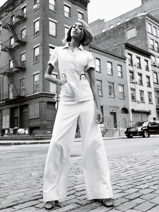 Джордан Данн для Vogue UK, февраль