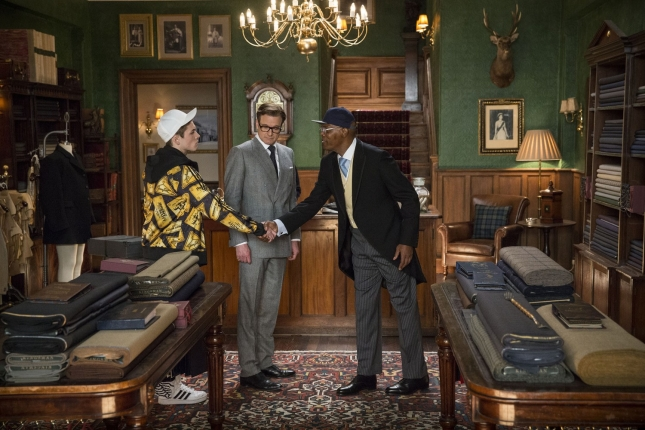 Кадр из фильма  «Kingsman: Секретная служба»