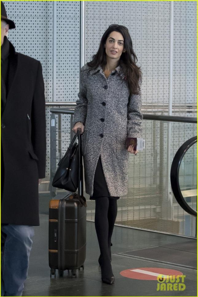 """Амаль Клуни вылетела из Франции, где присутствовала и защищала права армян на судебном заседании по делу """"Догу Перинчек против Швейцарии"""""""