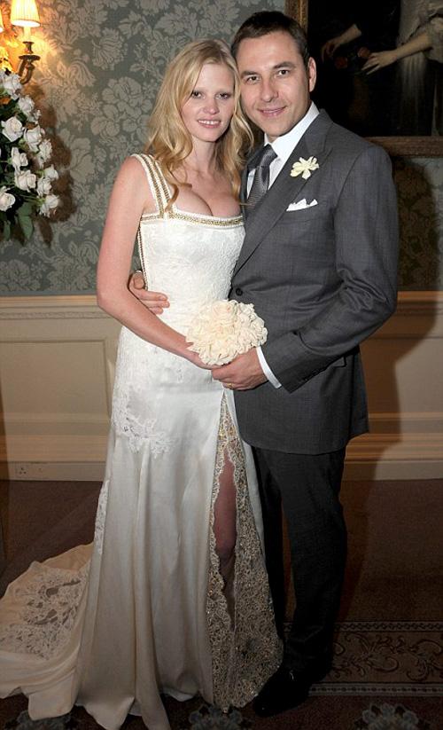 свадебное фото Лары Стоун