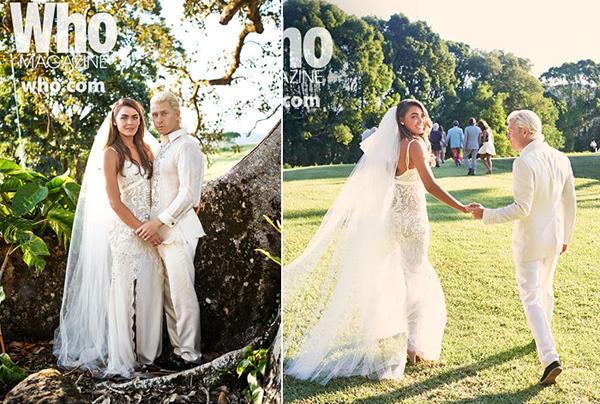 свадебные фото Бэмби Нортвуд-Блит