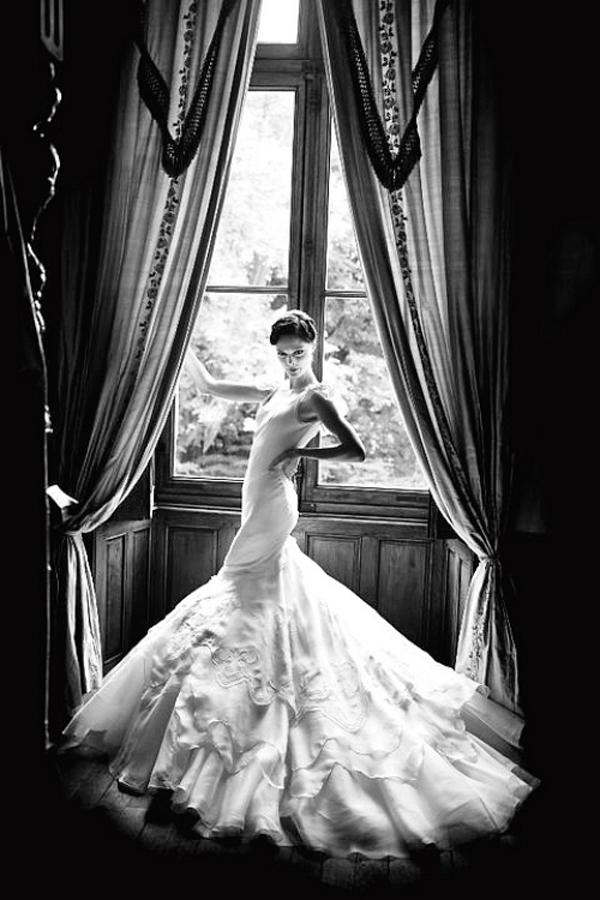 свадебное фото Коко Роша