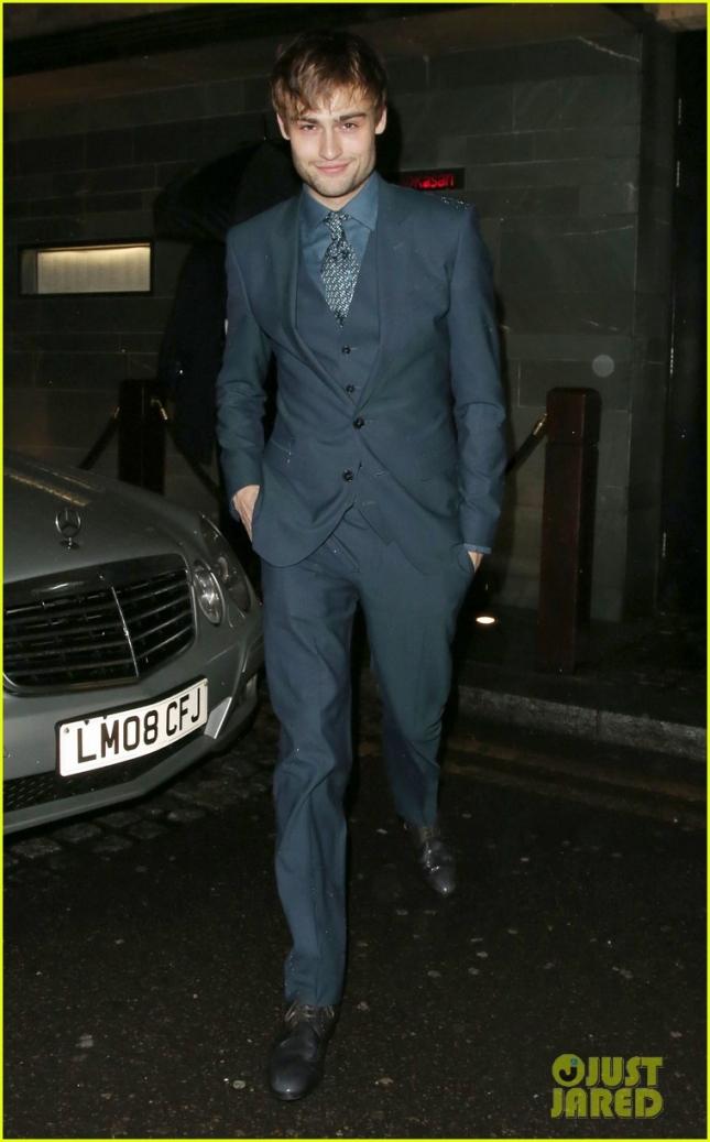 Дуглас Бут на вечеринке GQ в честь закрытия лондонской недели мужской моды