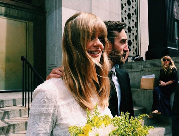 свадебное фото Джулии Стегнер