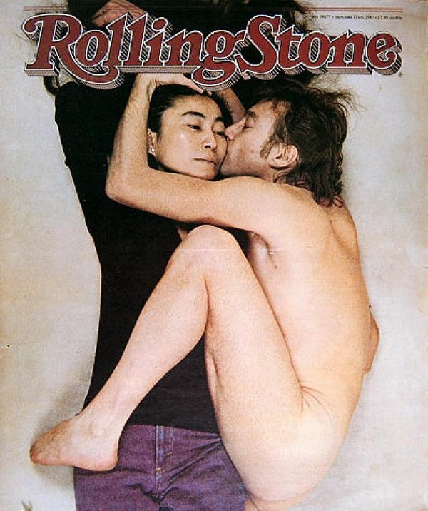 Джон Леннон и Йоко Оно на обложке RollingStone