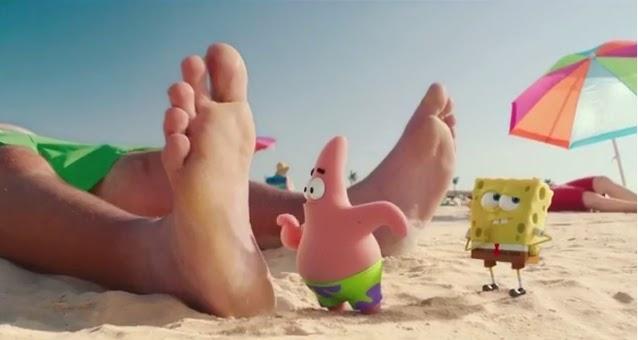Кадр из фильма «Губка Боб в 3D»