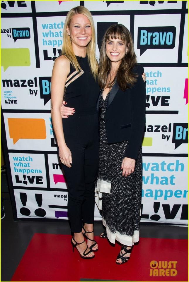 Гвинет Пэлтроу и Аманда Пит встретились на шоу Watch What Happens Live