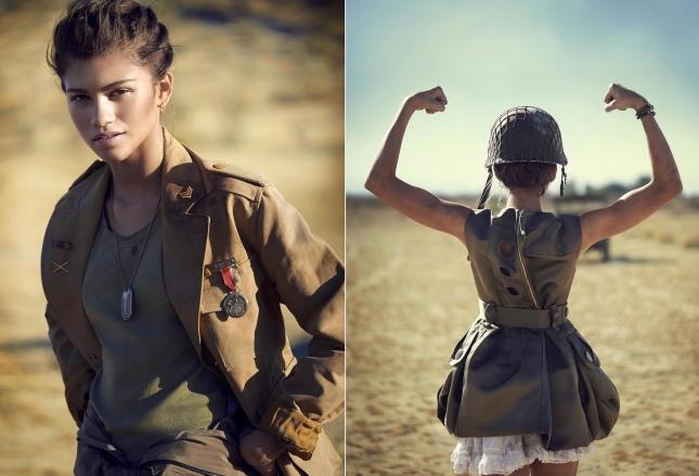 Зендая Коулман для Teen Vogue, февраль 2015