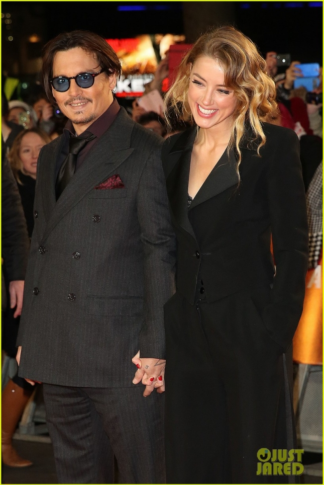 The UK premiere of Mortdecai