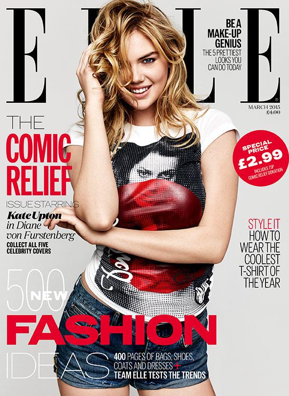 Кейт Аптон на обложке Elle Uk