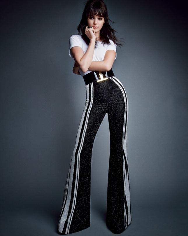 Кендалл Дженнер в фотосессии Vogue США