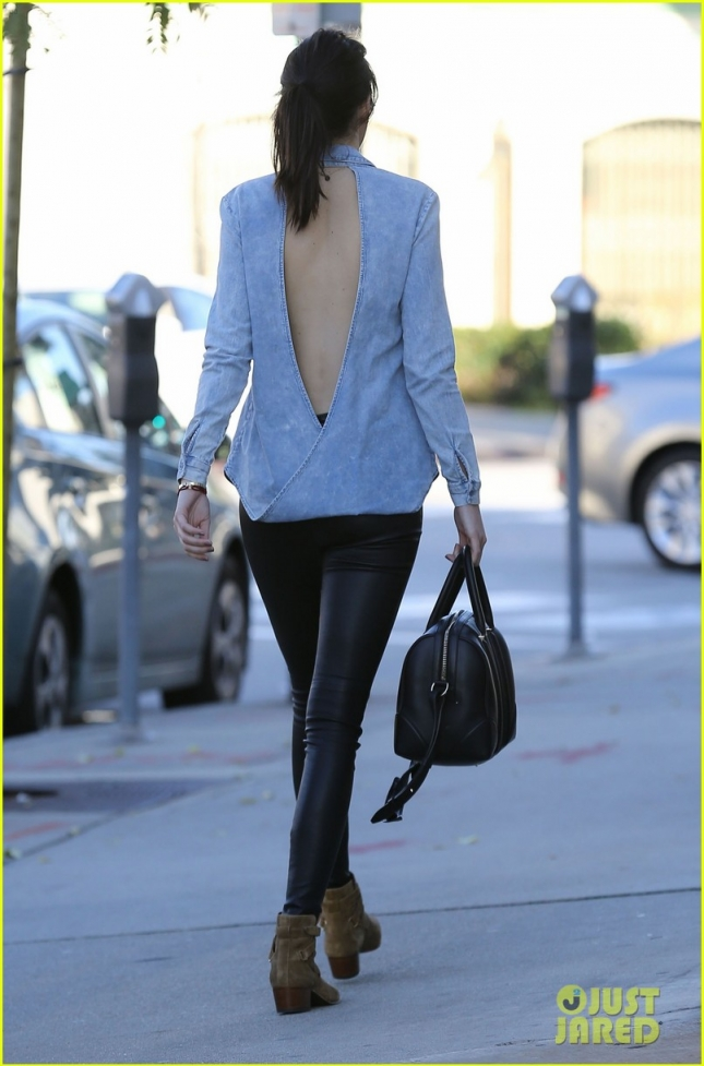 Exclusive... Kendall Jenner Out Shopping For Furniture