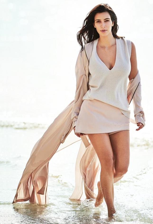 Ким Кардашьян для Vogue Австралия, февраль 2015