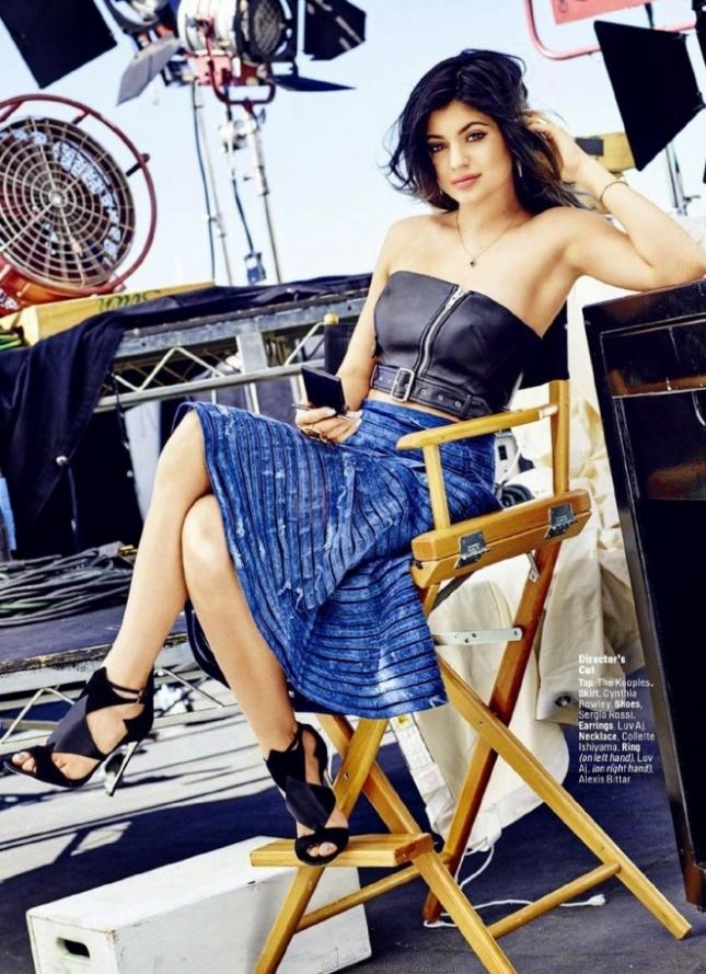 Кайли Дженнер в фотосессии для Cosmopolitan