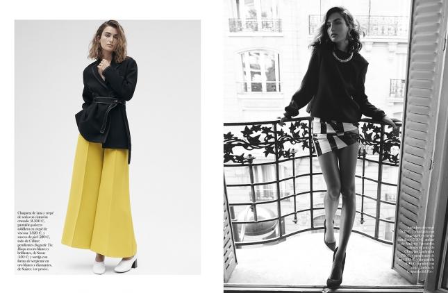 Андреа Дьякони в фотосессии для Vogue Испания