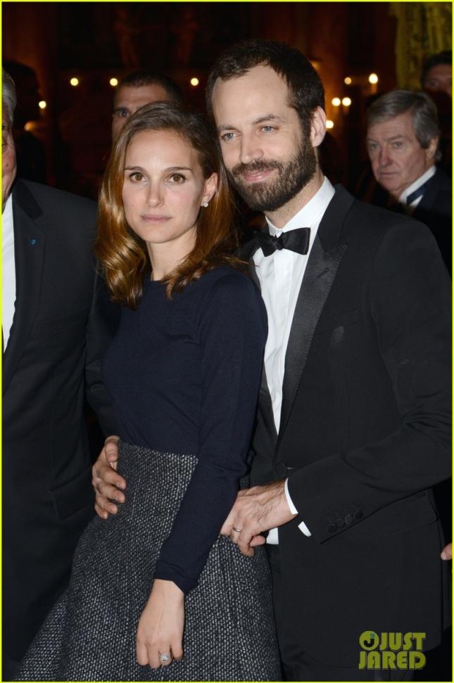 Натали Портман с мужем на 40-летии Weizmann Institute