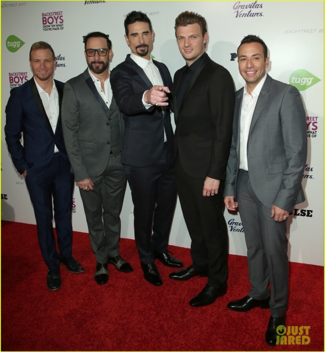 Premiere of 'Backstreet Boys: Show 'Em What You're Made Of'