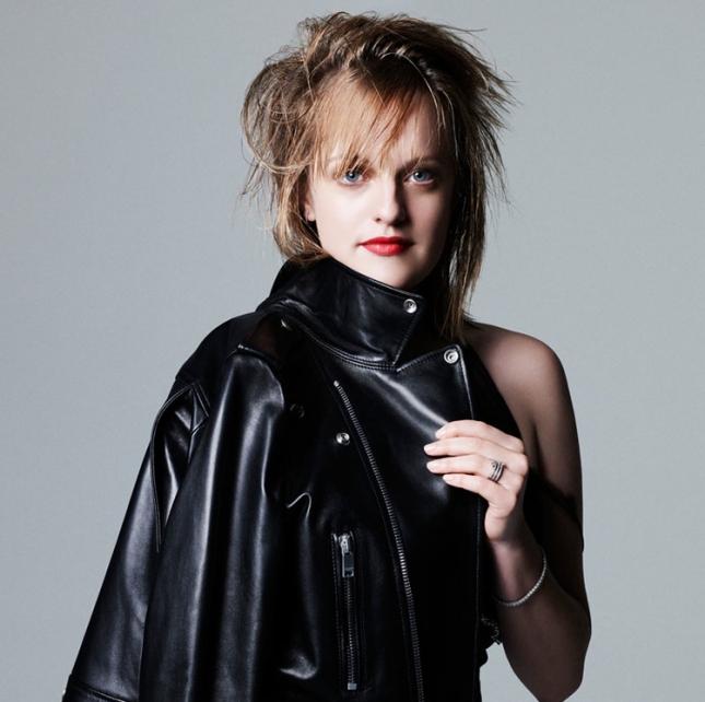 """Элизабет Мосс в фотосессии """"Women in TV"""" для февральского Elle US"""