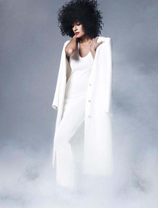 """Трэйси Эллис Росс в фотосессии """"Women in TV"""" для февральского Elle US"""