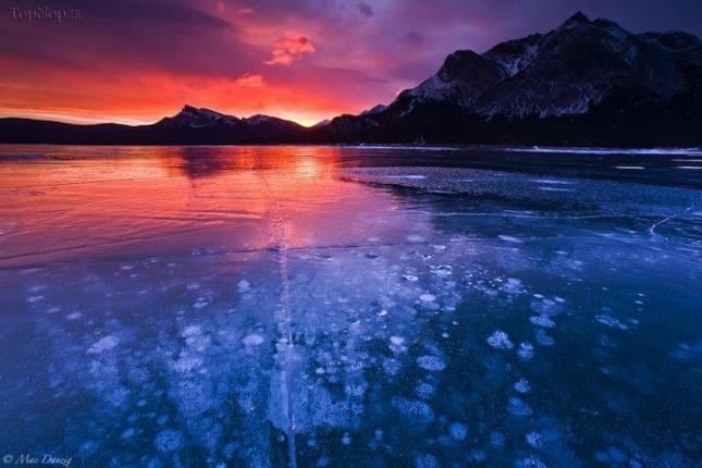 Озеро Абрахам