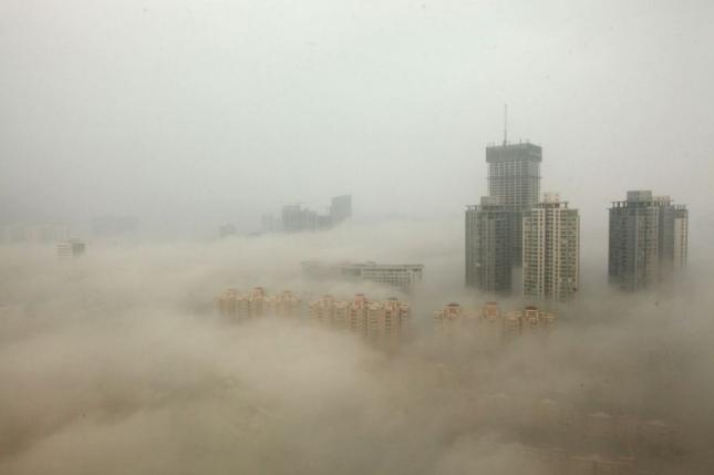 Смог на окраине Пекина