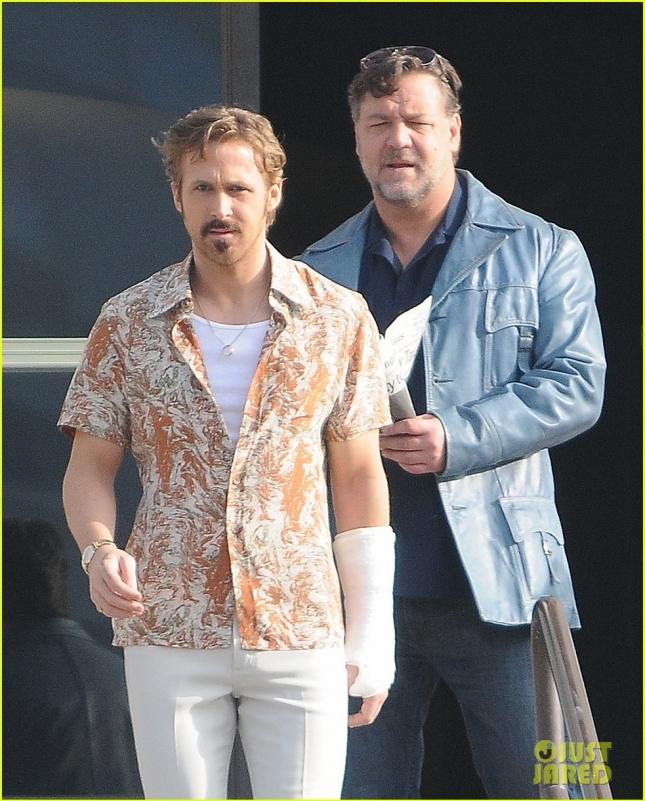 "Ryan Gosling & Russell Crowe Film ""The Nice Guys"""