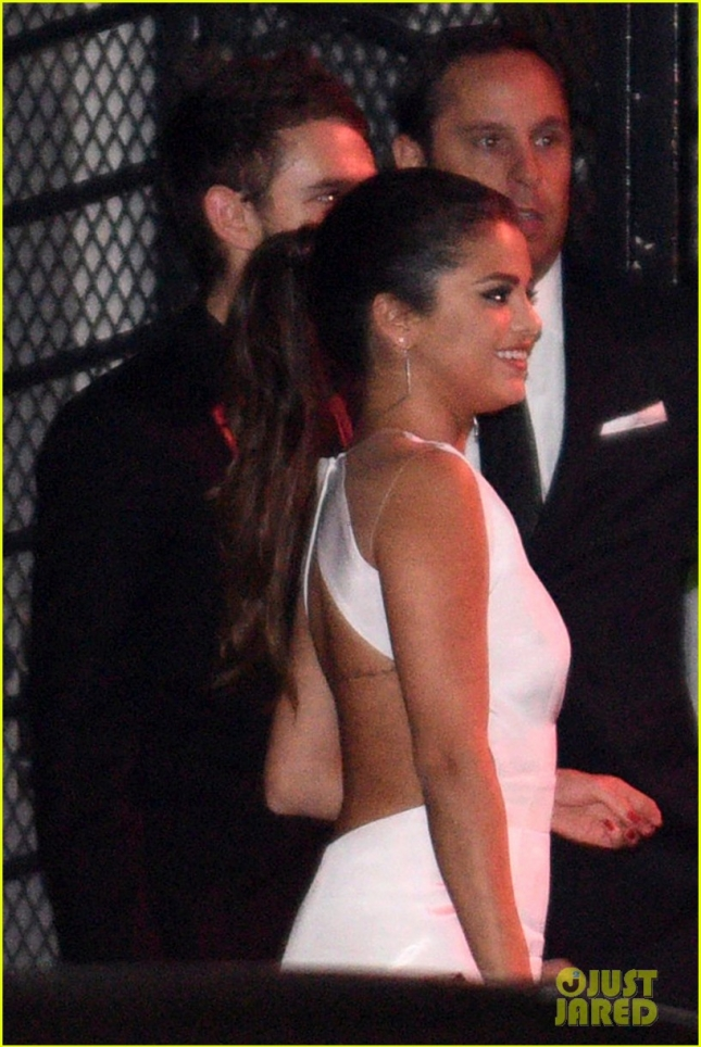 Selena Gomez and Zedd pair up at a Golden Globes After Party **USA ONLY**