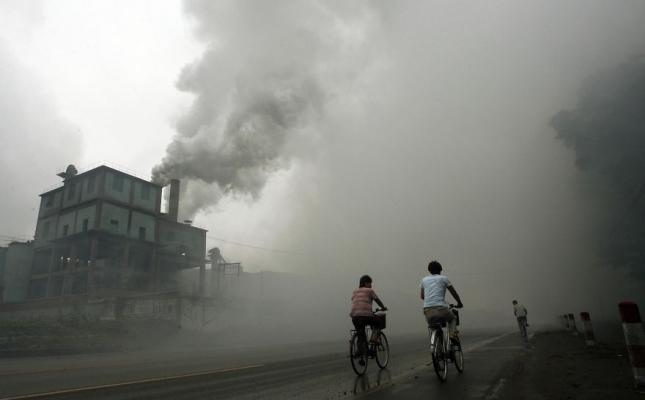 фабрика в 100 километрах к востоку от Пекина